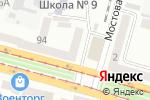 Схема проезда до компании Mul-t-Lock в Днепре