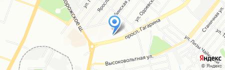 Спринт на карте Днепропетровска