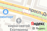 Схема проезда до компании STA design в Днепре