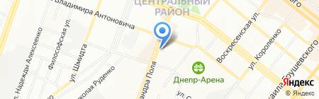 Holy Land cosmetics на карте Днепропетровска