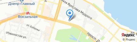 Kompa.com на карте Днепропетровска