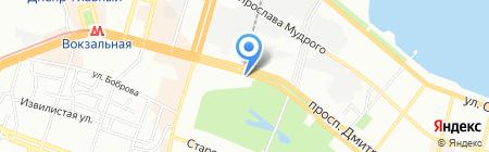 Добрый Дом на карте Днепропетровска
