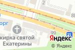 Схема проезда до компании Терминал самообслуживания, БАНК ВОСТОК, ПАО в Днепре