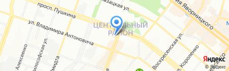 Честный компьютерный сервис на карте Днепропетровска