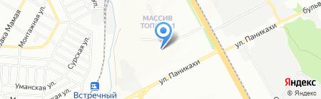 Середня загальноосвітня школа №52 на карте Днепропетровска