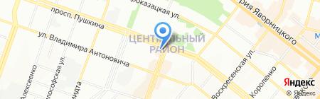 КИЇВСТАР на карте Днепропетровска