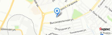 Бланки на карте Днепропетровска