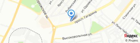 БОНЖУР на карте Днепропетровска