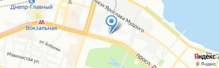 ЗАПОРІЖПРОМЕКОЛОГІЯ на карте Днепропетровска