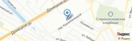 Академия праздника на карте Днепропетровска