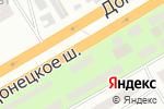 Схема проезда до компании МИР ОКОН в Днепре