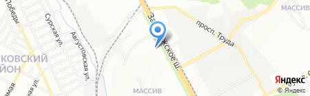 Велес на карте Днепропетровска