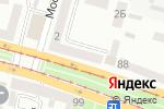 Схема проезда до компании 1st в Днепре