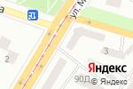 Схема проезда до компании Техкомплект в Днепре