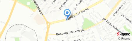 SESAME на карте Днепропетровска