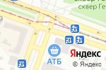 Схема проезда до компании АБ Радабанк, ПАО в Днепре