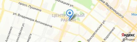 Медздрав на карте Днепропетровска