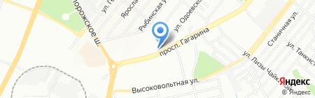 Rufino на карте Днепропетровска