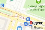 Схема проезда до компании Ключ центр в Днепре