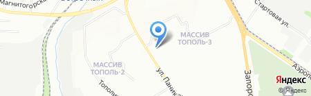 Люмьер на карте Днепропетровска