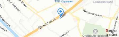 Бджільництво на карте Днепропетровска