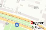 Схема проезда до компании Банк інвестицій та заощаджень, ПАТ в Днепре