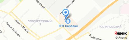 Ваша Шуба на карте Днепропетровска