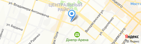 Otvertka.dp.ua на карте Днепропетровска
