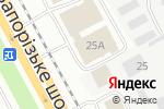 Схема проезда до компании Ниссан Центр в Днепре