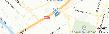Родник на карте Днепропетровска