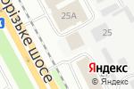 Схема проезда до компании Citroen Центр Днепропетровск в Днепре