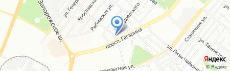 Масяня на карте Днепропетровска