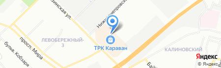BergHOFF на карте Днепропетровска