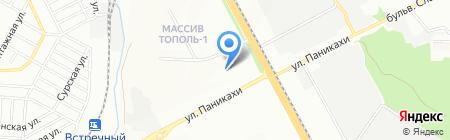 Меблів Світ на карте Днепропетровска