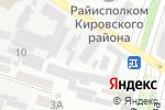 Схема проезда до компании Стоматологический центр в Днепре