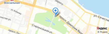 Театральный уголок на карте Днепропетровска