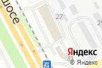 Схема проезда до компании Mazda в Днепре