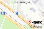 Схема проезда до компании КРЕДОБАНК, ПАТ в Днепре