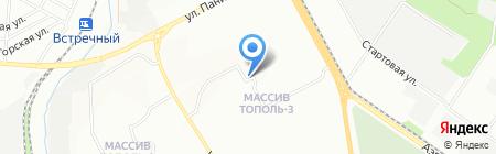 КОРЗИНКА на карте Днепропетровска