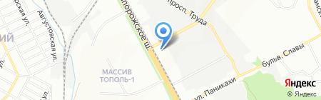 ENRAN на карте Днепропетровска
