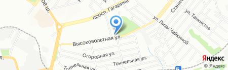 Тиниця на карте Днепропетровска