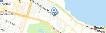 Промтехкабель на карте Днепропетровска