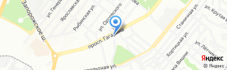 Свадебный Маркет на карте Днепропетровска