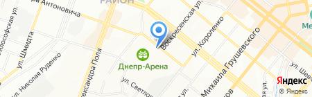 CINECITTA на карте Днепропетровска