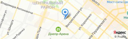 NOVA DE LUCCI на карте Днепропетровска