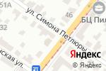 Схема проезда до компании Тотем, ЧП в Днепре