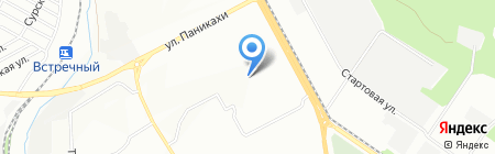Навчально-виховний комплекс №99 на карте Днепропетровска
