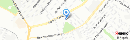 Теплоэнерго КП на карте Днепропетровска