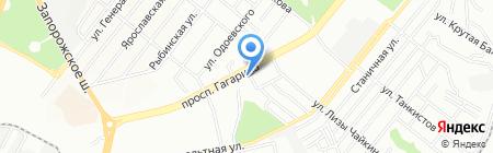 Mon Ami на карте Днепропетровска