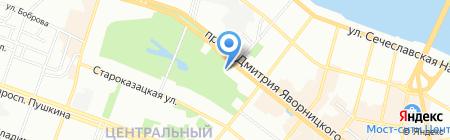 Фабрика Окон на карте Днепропетровска